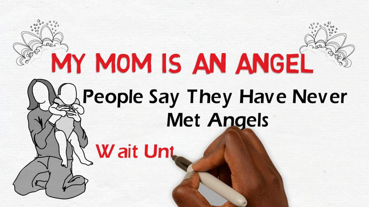 I love you mom poem video